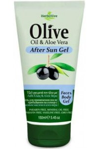 After Sun Gel with Olive Oil and Aloe Vera 150ml