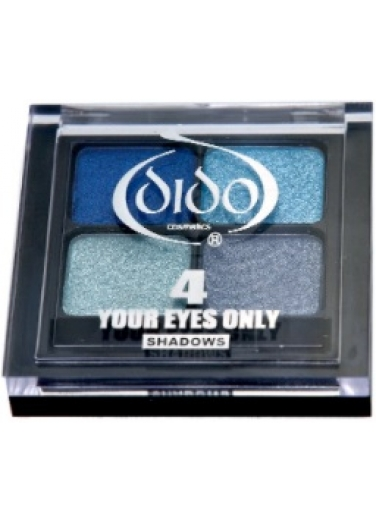 Dido Eyeshadow Palette 4 colours-Blue