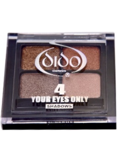 Dido Eyeshadow Palette 4 colours - Brown