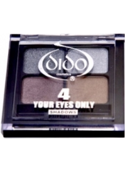 Dido Eyeshadow Palette 4 colours - Silver-Gold