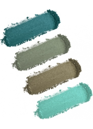 Dido Eyeshadow Palette 4 colours - Green