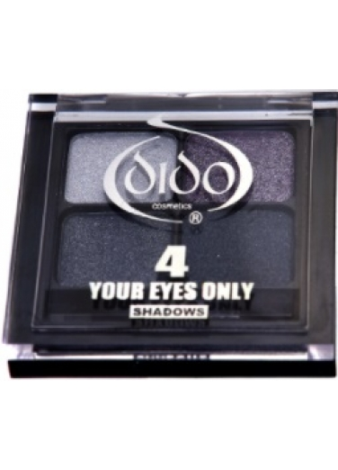 Dido Eyeshadow Palette 4 colours - Gray