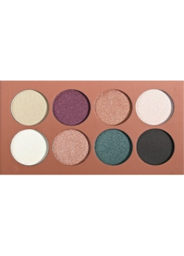 Dido Eyeshadow Palette 8 colours petrol, purple and pink shades