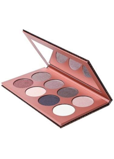 Dido Eyeshadow Palette 8 colours silver light pink tones