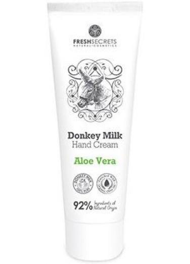 Hand Cream with Donkey Milk and Aloe 100ml