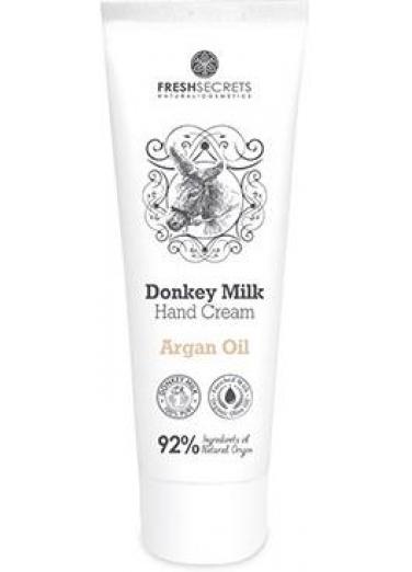 Hand Cream with Donkey Milk and Argan 100ml