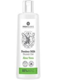Shower gel with Donkey Milk and Aloe vera 200ml
