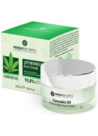 Face Cream Antiwrinkle with Cannabis 50ml