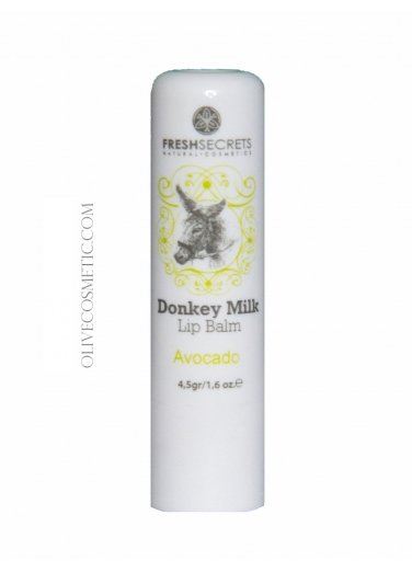 Lip Balm with Donkey Milk and Avocado 4,5gr