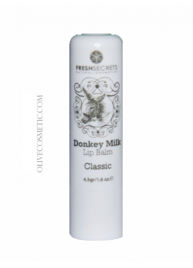 Lip Balm with Donkey Milk Classic 4,5gr