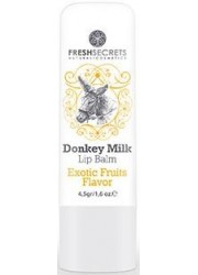 Lip Balm with Donkey Milk and Exotic Fruits Flavor 4,5gr