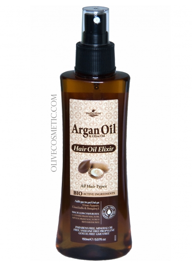 Argan Hair Oil Elixir for Shine and Care 150ml