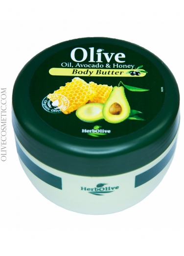 Body Butter with Avocado and Honey 250ml