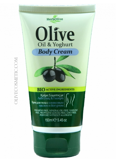 Body Cream with Yoghurt 150ml