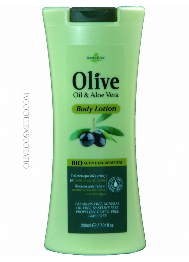 Body Lotion with Aloe Vera 200ml