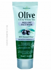 Face Mask Peel off with olive oil and white tea 75ml