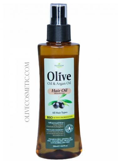 Hair Oil with Argan Oil 150ml