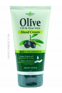 Hand Cream Olive Oil and Aloe Vera 150ml