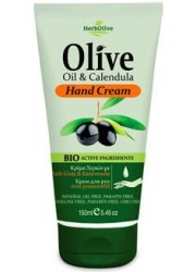 Hand Cream Olive Oil  & Calendula 150ml