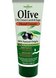 Hand Cream with Olive Oil, Cretan Carop and Sage 100ml