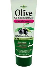 Hand Cream Olive Oil & Pomegranate 100ml