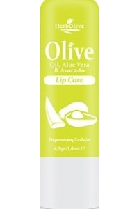Lip Balm with Olive Oil and Aloe-Avocado 4.5gr
