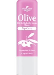 Lip Balm with Olive Oil and Bubble Gum flavor 4.5gr