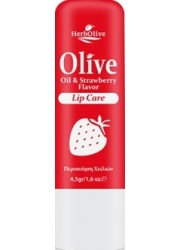 Lip Balm with Olive Oil and Strawberry 4.5gr