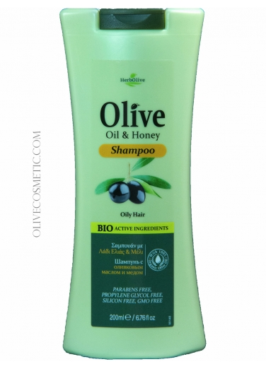 Shampoo Olive Oil and Honey 200ml