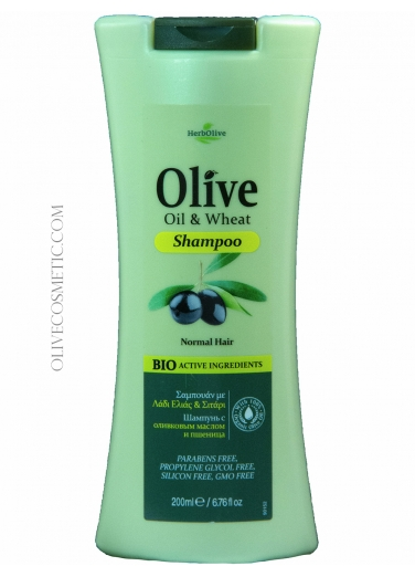 Shampoo Olive Oil and Wheat 200ml