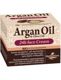 Argan 24h Face Cream for Normal-Dry Skin 50ml