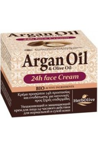 Argan 24h Face Cream for Normal-Dry Skin 50ml