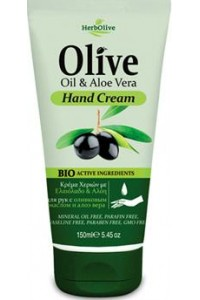 Hand Cream Olive Oil  & Aloe Vera 150ml