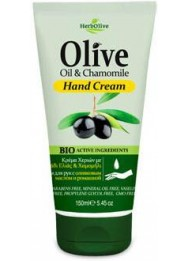 Hand Cream Olive Oil  & Chamomile 150ml
