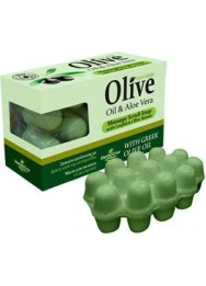 Massage Soap with Olive Oil & Aloe Vera 100gr