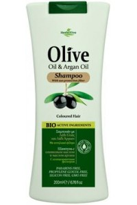Shampoo Olive Oil & Argan Oil for Coloured Hair 200ml