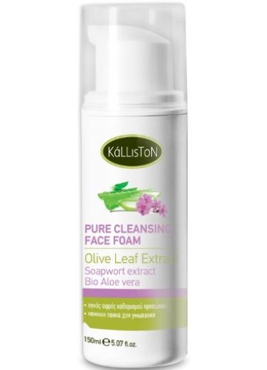 Pure cleansing face foam 150ml