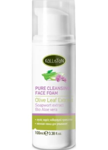 Pure cleansing face foam 100ml