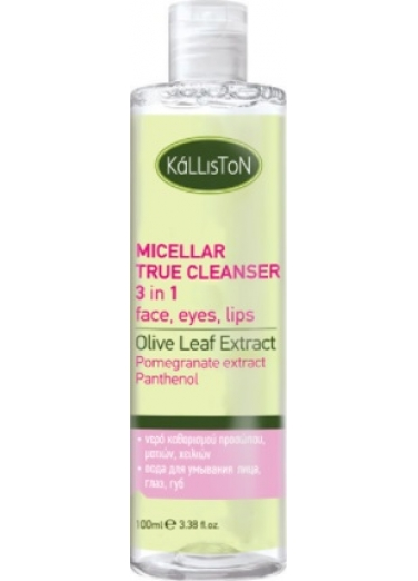 Micellar True Cleanser Face, Eyes, Lips 100ml